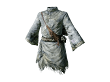 white hollow mage robe